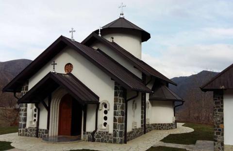 Монастырь в окрестностях Златибора в Сербии